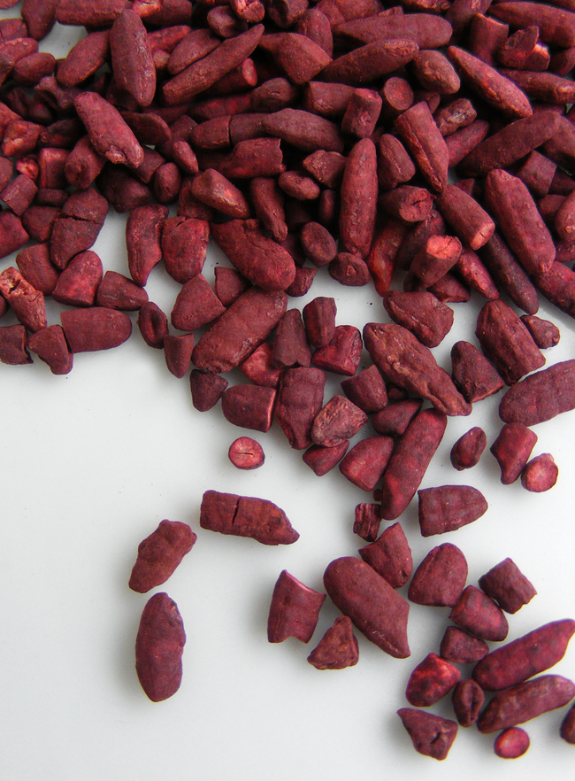 Natural supplements, red yeast rice and psyllium
