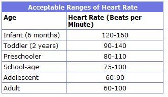 Normal heart rate, heart beats too fast