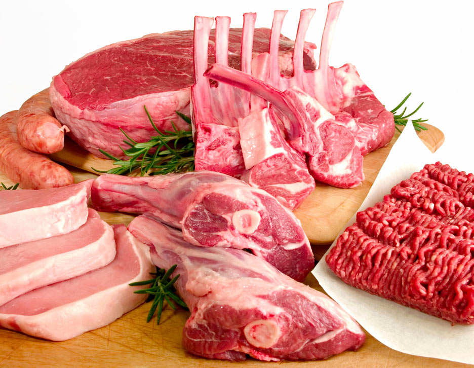 Red meat, eat more fiber and lower creatine